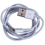 Cell First Data/Sync Cable For Iphone 5/5S/5C With 7.0. 2 Os Compatibility,  white