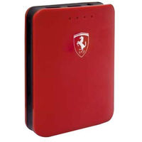 Ferrari Power Bank 10400 mAH Glossy Finish,  red