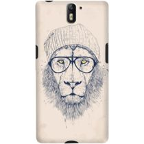 DailyObjects Cool Lion Case For OnePlus One