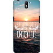 DailyObjects Breath Deep Case For OnePlus One