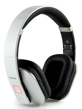 CLiPtec PBH405WH Air-Track Bluetooth 4.0 Wireless Stereo Headset (White)