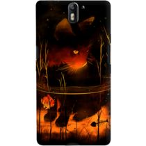 DailyObjects Catfish At Night Case For OnePlus One