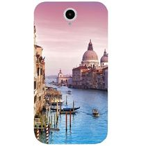 Casotec Venice Design Hard Back Case Cover for Lenovo A850