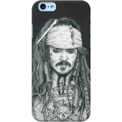 DailyObjects Captain Jack Inked Case For iPhone 6