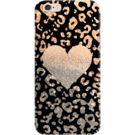 DailyObjects Gold Heart Leo Black Case For iPhone 6s Plus