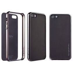 TOTU Rainbow series Cover for iPhone 5, black yellow