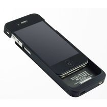 Smiledrive 1900mAh Power Bank External Battery Case for iPhone 4/4S,  black