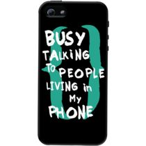 DailyObjects Busy Talking To People Case For iPhone 5/5S