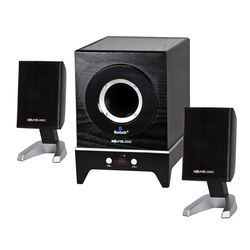 Sound Logic XT Bluetooth Speakers with Subwoofer,  black