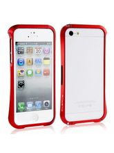 Callmate Cleave Aluminum Bumper Cover for iPhone 5/5S, red