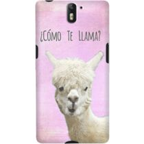 DailyObjects Como Te Llama Pink Case For OnePlus One