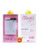 Remax Proda Crave 12000Mah Powerbank With Led Light, rose gold