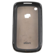 Molife Cover For Black Berry 8520 Black, standard-black