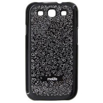 Molife Zippy Back Covers - Samsung Galaxy S3, standard-black