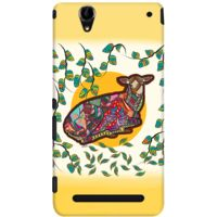 DailyObjects Colorful Tribal Deer Case For Sony Xperia T2 Ultra