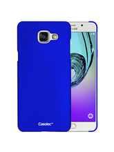 Casotec Ultra Slim Hard Shell Back Case Cover for Samsung Galaxy A7 (2016) - Dark Blue