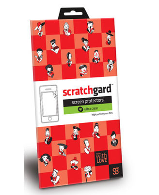 Scratchgard Clear Screen Protector For HTC Desire 510,  clear