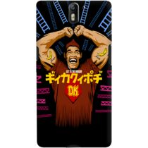 DailyObjects Burger Kong Case For OnePlus One