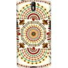 DailyObjects Cowboy Mustache Mexico Mandala Case For OnePlus One