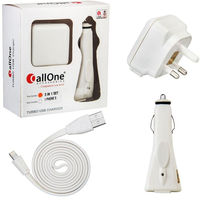 CallOne Turbo Charger 3 in 1 Set iPhone 5