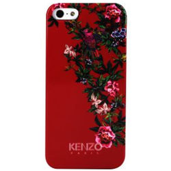 Kenzo flagship Exotic Pattern - Red Hard Case for iPhone 5/5S,  red