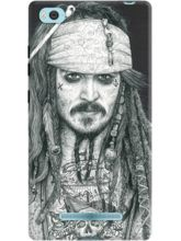 DailyObjects Captain Jack Inked Case For Xiaomi Mi 4i