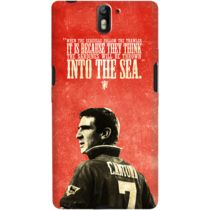 DailyObjects Cantona Grunge Case For OnePlus One