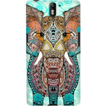 DailyObjects Boho Summer Elephant Blue Case For OnePlus One