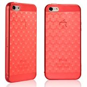 TOTU Fashion Color Cover for iPhone 5,  red