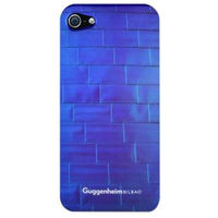 Guggenheim Electroplated cover - Fuchsia for iPhone 5/5S,  blue