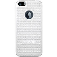 Amzer 94826 Snap On Case-White - iPhone 5, standard-white