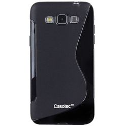 Casotec S-Line Anti-skid Soft TPU Back Case Cover for Samsung Galaxy Grand 3,  black