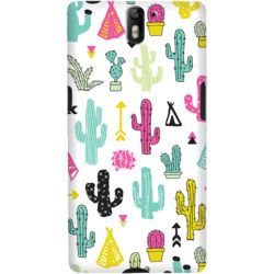 DailyObjects Colorful Cacti Garden Case For OnePlus One