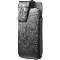 BlackBerry Leather Swivel Holster for BlackBerry Z10,  black