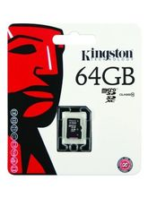 Kingston 64GB Micro SDXC Class 10 UHS-I memory card