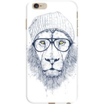 DailyObjects Cool Lion White Case For iPhone 6 Plus
