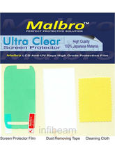 Malbro Ultra Clear Screen Protector (Platinum Series) For Nokia X3-02 (White)
