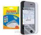 Amzer Super Clear Screen Protector with Cleaning Cloth For iPhone 4