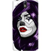 DailyObjects Clown Girl Case For OnePlus One