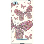 DailyObjects Butterfly Dance Case For Xiaomi Mi 4i