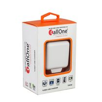 Callone Turbo Travel Charger 1Amp,  white