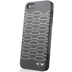 Mini Front Grill Kidnet Shapes Hard Case for iPhone 5/5S,  black