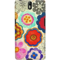 DailyObjects Charming Floral Case For OnePlus One