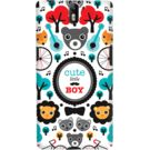 DailyObjects Cute Boy Case For OnePlus One