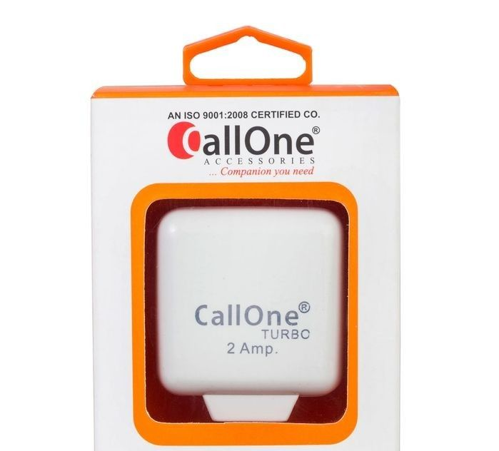 Small Turbocharger Price In India: Buy CallOne 2A Turbo Fast Charger With Data Cable Online