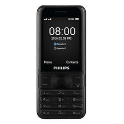 Philips E181 Dual SIM Phone,  black