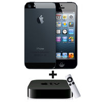Apple iPhone 5 - 16GB Combo,  black