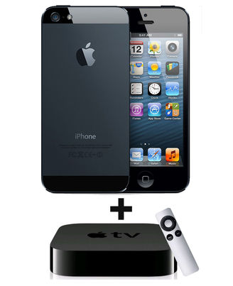 Apple iPhone 5 - 16GB Combo,  white