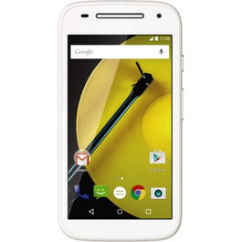 Moto E (2nd Gen) Unboxed (8 GB),  white