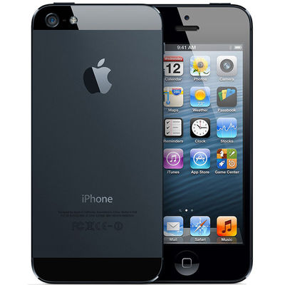 Apple iPhone 5 - 32GB,  black